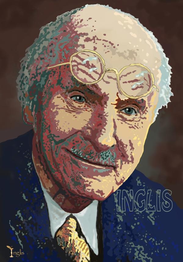 Karl Jung Portrait