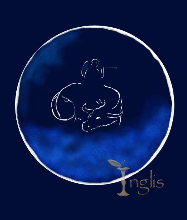 Ox Circle Blue 3